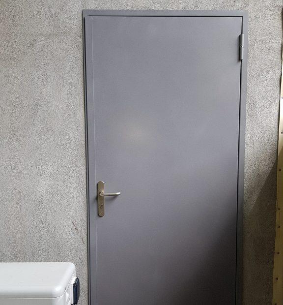 Beau Porte De Service En Acier 15/10, Efficace Et Durable